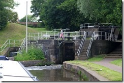 Etruria Staircase: Bottom Lock