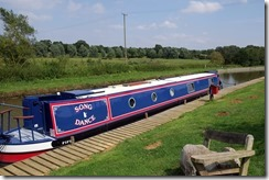 Moored at the Pig Farm