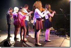 South Mainland Young Fiddlers - spot the littl'un!