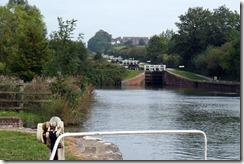 Caen Hill Locks - nearly at the bottom!