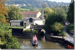 Entrance to Bath Locks / Kennet & Avon Canal