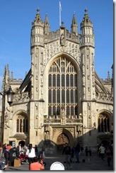West Entrance, Bath Abbey