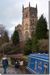 Kidderminster Lock and Church