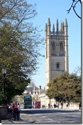 Magdalen Tower from Magdalen Bridge