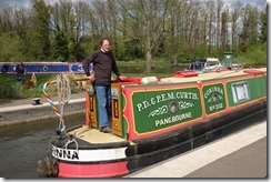 One of David Piper's boats