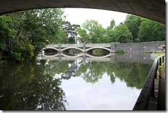 Under Weybridge Road Bridge