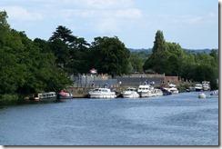 Hampton Court moorings