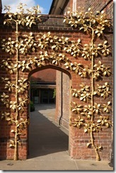 Gold Gate Doorway