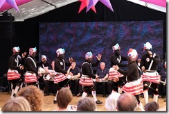 Britannia Coconut Dancers from Bacup