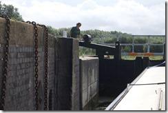 Stanground Lock and Tina