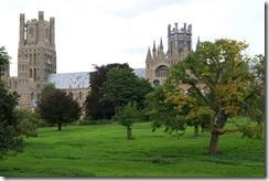 Ely Cathedral from Cathedral Park