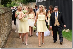 Brides Men & Brides Maidens they made a fine show...