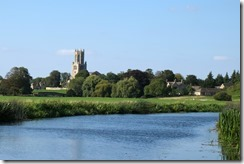 Approaching Fotheringhay