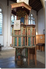 Painted Pulpit, Fotheringhay Church