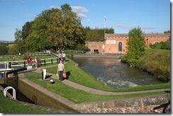 Foxton Locks: side pond