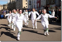 Jackstraws Morris about to do a runner