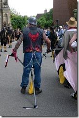 Warwick Folk Festival procession