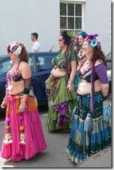 Warwick Folk Festival: Belly Dancer Morris