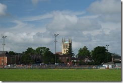 Pershore Recreation Ground and Abbey