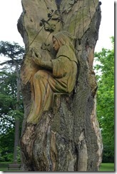 Tree carving, Pershore