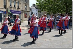 Red White and Blue Twizzle Stick Morris
