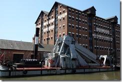 Dredger, Barge Arm, Gloucester Docks