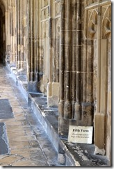 Gloucester Cathedral - Where's Harry