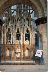 Gloucester Cathedral - Tomb of EII