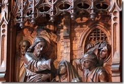 Worcester Cathedral: Side Chapel Triptych