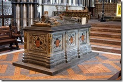 Worcester Cathedral: King John's Tomb