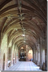 Worcester Cathedral: Cloister