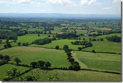 View towards Welsh hills