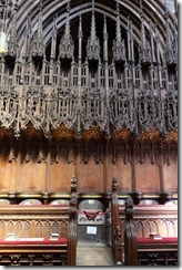 Gloucester Catherdral : Choir Carvings