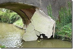 Bridge after boat extraction